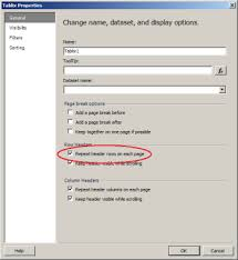 SSRS Repeating header rows on each page- export to PDF problem ...