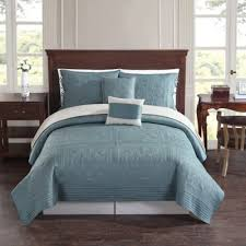 Buy Teal Quilts Sets from Bed Bath & Beyond & Baroque Tile Reversible Twin Quilt Set in Teal Adamdwight.com