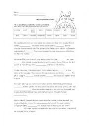 english worksheets my neighbour totoro essay english worksheet my neighbour totoro essay