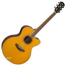 Гитара электроакустическая Yamaha CPX600 Vintage ... - ROZETKA