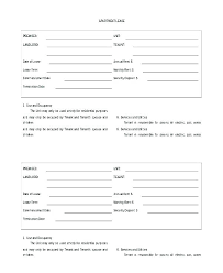 Printable Rental Agreement Template Home Lease Agreement Template Nj Apartment Rental