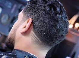 Le Dégradé à La Nuque Coupe De Cheveux Homme