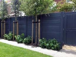 fence ideas shielded backyard designs