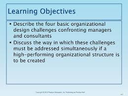 Basic Challenges Of Organizational Design Basic Challenges Of Organizational Design Ppt Download