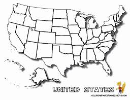 Adult Us Map Coloring Page Map Of Us Coloring Page Coloring Pages