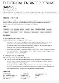 92 Mid Level Engineer Resume Entry Level Engineering Resume