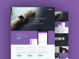 Psd Website Templates Free High Quality Designs Blaz Robar Projects Free Psd Files Dribbble