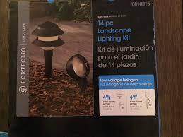 Portfolio Low Voltage Landscape Audio Path Lighting Portfolio 14 Piece Landscape Set