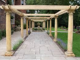 garden columns. Garden Columns And Pillars