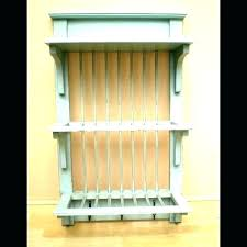 wood wall plate rack wooden wall plate rack wall plate rack wall mounted plate rack wall