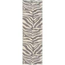 portofino ivory gray 2 ft x 7 ft runner rug