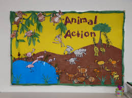 office bulletin board ideas yellow. Great Idea For A Jungle Or Animal Unit. Also, Good To Pair Up With The Action Song By Greg And Steve. Office Bulletin Board Ideas Yellow