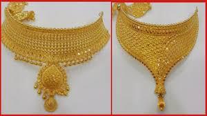 Gold New Model Necklace Design