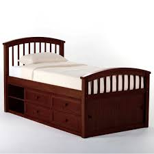 Boys storage bed Youth Schoolhouse Captain Wood Storage Bed In Cherry Rachel Delacour Full Kids Beds Childrens Bedroom Furniture For Boys Girls