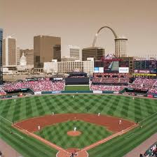 St Louis Cardinals Busch Stadium Cardinal Art Cardinals Canvas