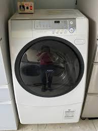 Máy giặt Sanyo AQW-D500 giặt 9kg sấy 6kg, giặt Ion khử mùi - chodocu.com