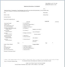 account statement templates statement layout template new personal financial statement templates
