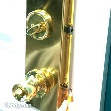 front door knob lock. Install Door Knob Installing Exterior Entry Knobs And Locks Design Plain How To An Front Lock