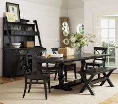 Dining Room Modern Fromal Black Dining Room Set With Glass Top - Faux leather dining room chairs