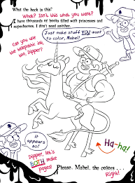Gravity Falls Coloring Pages Bill Cipher