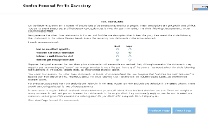 gordon personal profile inventory talentlens com sample question