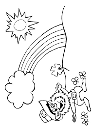 Small Picture Best Leprechaun Coloring Page 67 With Additional Coloring Books