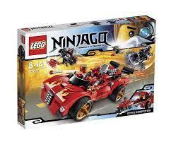 do choi lego ninjago 70727 xe hoi chien dau cua Kai