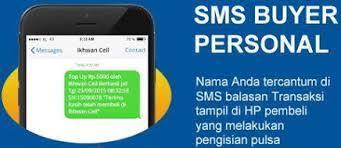 Hasil gambar untuk gambar sms buyer