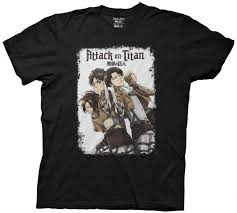 Attack On Titan Group Swords T Shirt