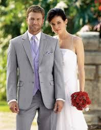 Light Purple Tuxedo Vest New Custom Light Gray Men Suits Wedding Formal Tuxedos Slim Fit Groomsman Suits Jacket Pants Vest Prom Wear 558 Men In Tuxedos Mens Dress Trousers