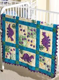 Baby Quilt Pattern Enchanting My Dinosaur Baby Quilt Pattern Applique Baby Quilt Pattern
