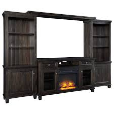 signature design by ashley townser entertainment center w fireplace item number w636