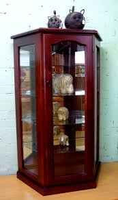 ... Decoration:Small Glass Curio Display Case Glass Display Cases For Sale  Full Glass Display Cabinet
