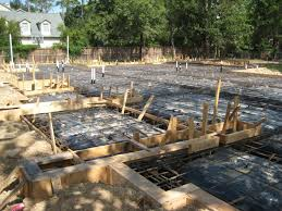 foundation framing before concrete pour on new home built by award winning watermark builders