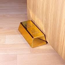 #11 Gold Bar Doorstop