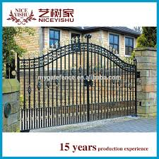 Steel Gate Design With Price Top 10 Best Seller Simple Decorative Swing Sliding House Steel Gate Design Factory Price Wrought Iron Garden Main Gate Design Buy House Steel Gate