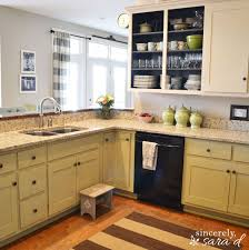 Small Picture Paint Kitchen Cabinets With Chalk Paint Hometalk