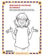 Small Picture Random House Junie B Jones Activities School projects