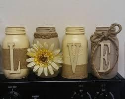 Mason Jars Decorated With Twine house warming house warming gift mason jar decor twine burlap 92