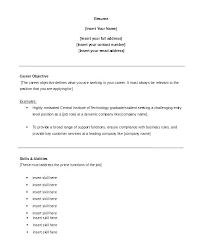 Example Of A Objective For A Resumes Samples Of Career Objectives On Resumes Bitacorita