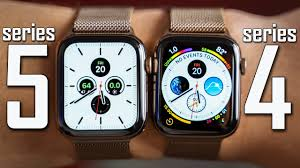 Apple Watch Model Comparison Chart Apple Watch Series 5 Vs Series 4 Full Comparison