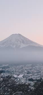 Mount Fuji City Japan Landscape Scenery ...
