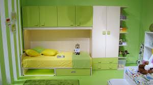 contemporary kids bedroom furniture green. Monochromatic Green Bedroom With Integrated Bed Cabinets And Wardrobe Also Strap White Wall Paper For Kids Furniture Set Ideas Contemporary N