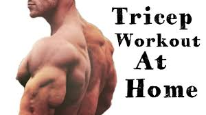 home tricep workout no gym build a bigger tricep by fitness center