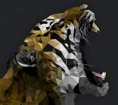 Download Abstract Tiger Wallpaper HD by ...
