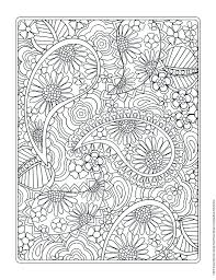 Small Picture Free coloring page from Jenean Morrisons Flower Designs Coloring
