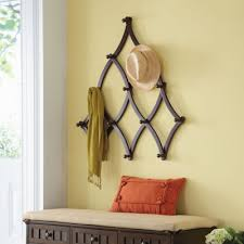 Sturdy Coat Racks With 100 sturdy hanging hooks this Expandable Coat Rack has ample 24