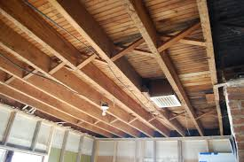 St Floor Exposed Ceiling Joists Soundproofing An Exposed Joist - Exposed basement ceiling