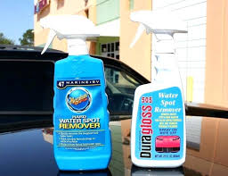 remove hard water stains from glass how to remove hard water stains from car glass i