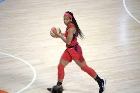 Morris Catholic alumna Stella Johnson has stellar night in first WNBA start